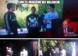 Enlace a Aún es jugador del Valencia