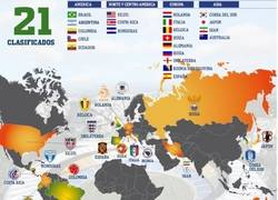 Enlace a Así están las clasificatorias rumbo a Brasil 2014