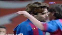 Enlace a GIF: Y éste fue el debut histórico de Messi