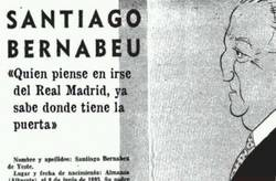 Enlace a Don Santiago Bernabeu responde a Iker Casillas