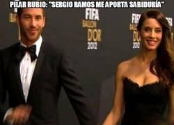Enlace a Pilar Rubio, vete a casa