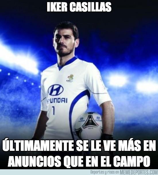 196997 - Iker Casillas, el hombre anuncio