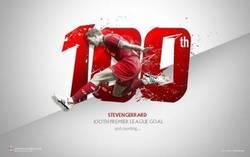 Enlace a Gerrard, 100 goles en Premier League