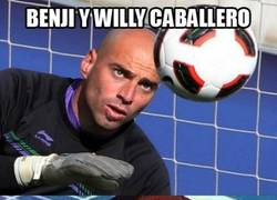 Enlace a Benji y Willy Caballero