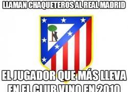 Enlace a Llaman chaqueteros al Real Madrid