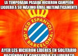 Enlace a Los del Espanyol se están empezando a portar con el Barça