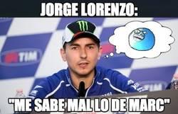 Enlace a Jorge Lorenzo, ¿sinceridad o hipocresía?