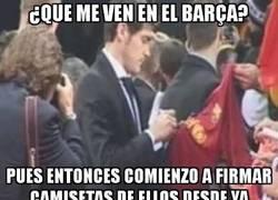Enlace a ¿Que me ven en el Barça?