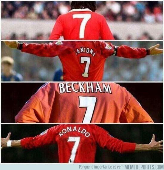 197954 - Número mítico en el Manchester United