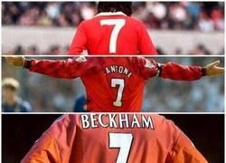 Enlace a Número mítico en el Manchester United