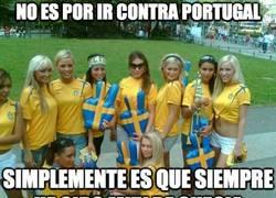 Enlace a No es por ir contra Portugal
