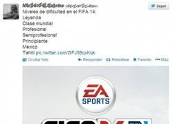 Enlace a Nuevo Nivel de Dificultad en FIFA 14
