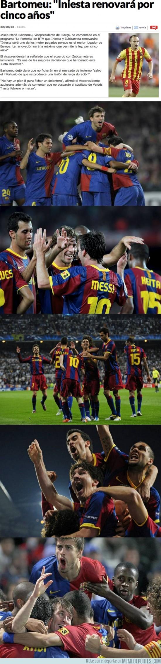 198159 - ¡Iniesta renueva por cinco años!