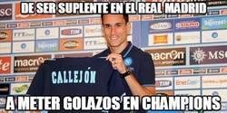 Enlace a De ser suplente en el Real Madrid a meter golazos en Champions
