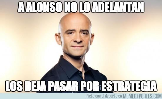 198475 - A Alonso no lo adelantan