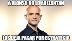 Enlace a A Alonso no lo adelantan