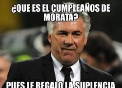 Enlace a ¡Felicidades Morata!