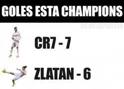 Enlace a Impresionante estadística. Goles en lo que llevamos de Champions