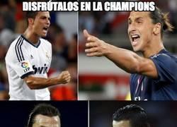 Enlace a Disfrútalos en la Champions