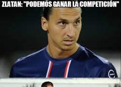 Enlace a Zlatan, se te ve muy subido tras los 4 goles