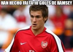 Enlace a Han hecho falta 10 goles de Ramsey