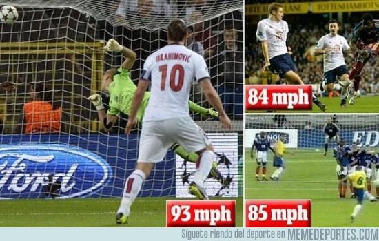 199170 - El trallazo más potente del mundo: Ibra vs Roberto Carlos vs Martins