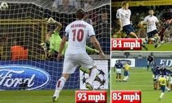 Enlace a El trallazo más potente del mundo: Ibra vs Roberto Carlos vs Martins