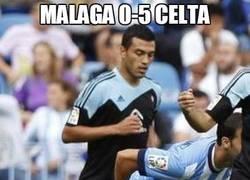 Enlace a El Celta se ha despachado 0-5 con el Málaga