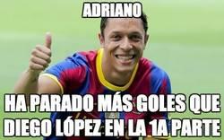Enlace a Adriano, mejor portero que Diego López