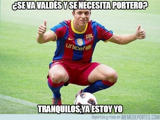 199713 - ¿Se va Valdés y se necesita portero?