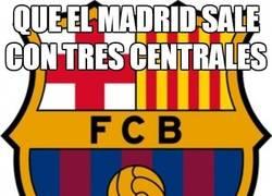 Enlace a Que el Madrid sale con tres centrales