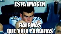 Enlace a Bale hoy en el Camp Nou