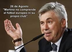 Enlace a Ancelotti el bocachancla