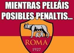 Enlace a Mientras peleáis posibles penaltis...