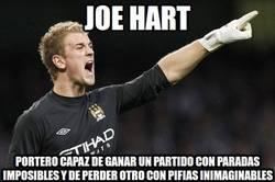 Enlace a Joe Hart, una de cal y una de arena