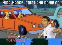 Enlace a Mira marge, Cristiano Ronaldo