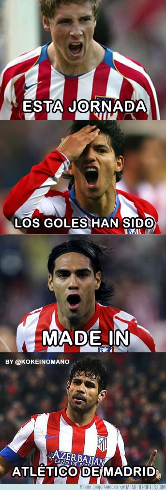 200678 - Goles made in Atlético de madrid