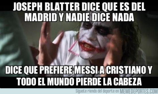 201042 - Joseph Blatter es socio de honor del Madrid