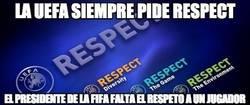 Enlace a La UEFA siempre pide RESPECT