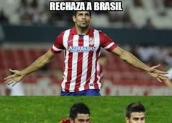 Enlace a Diego Costa rechaza a Brasil