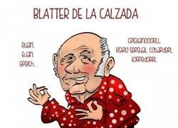 Enlace a Blatter de la Calzada