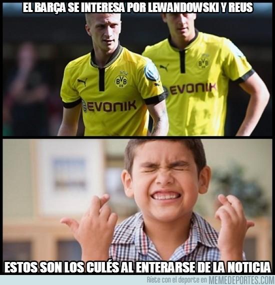 201467 - El Barça se interesa por Lewandowski y Reus