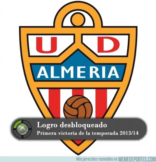 201532 - Logro desbloqueado por el Almería