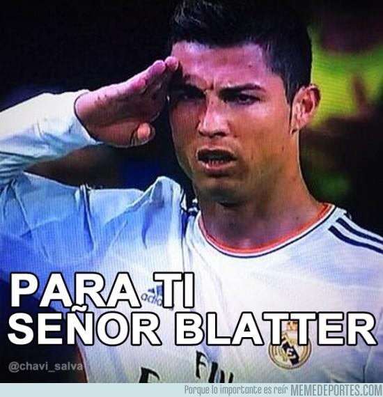201593 - Para ti, señor Blatter