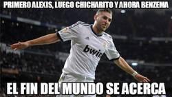 Enlace a Primero Alexis, luego Chicharito y ahora Benzema