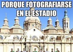 Enlace a ¿Fotos fuera del Estadio?