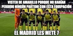 Enlace a El amarillo y el Sevilla