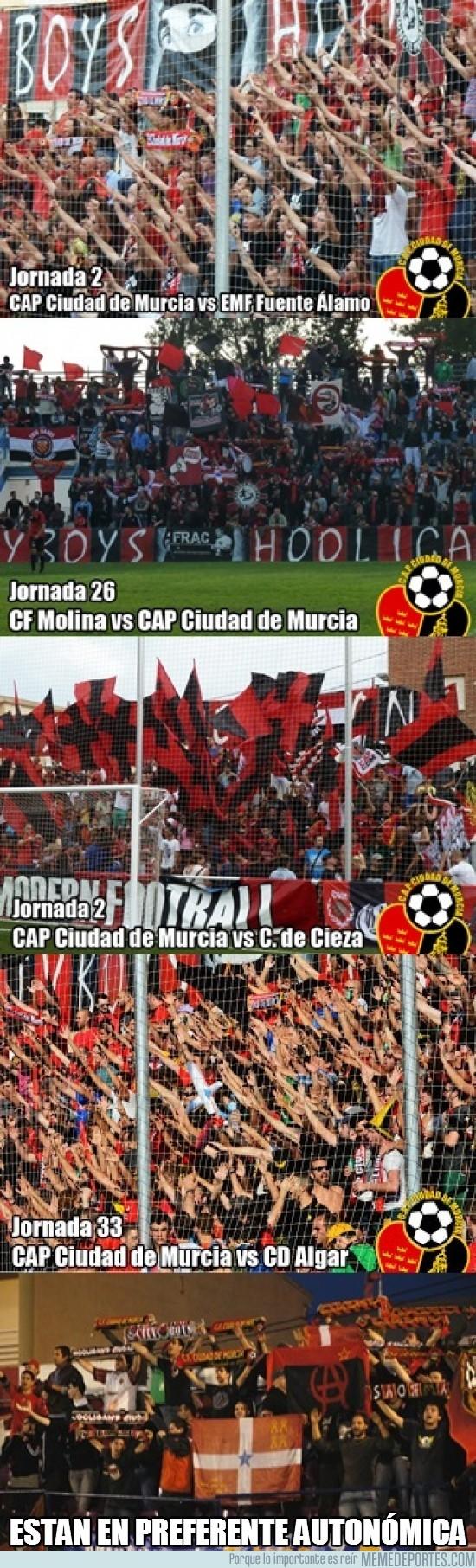201869 - Ya podrían ser todas las aficiones como el CAP Ciudad de Murcia
