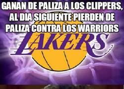 Enlace a Ganan de paliza a los Clippers, al día siguiente pierden de paliza contra los Warriors