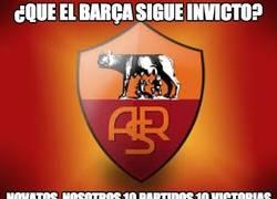 Enlace a ¿Que el Barça sigue invicto?